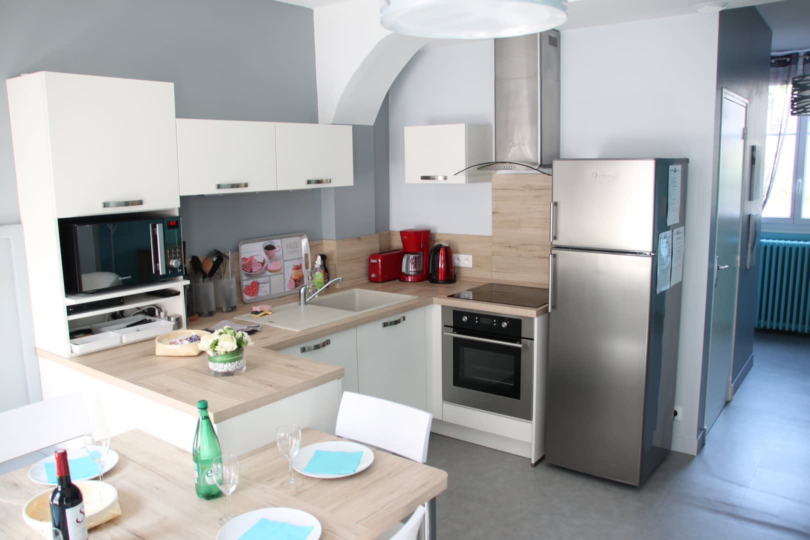 Gîte les toits d'Amboise - La cuisine