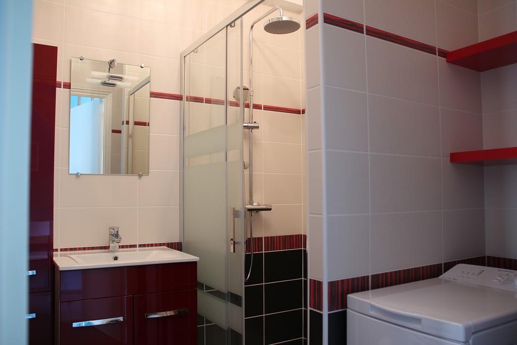 Gîte les toits d'Amboise - La salle de bains